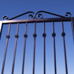 Iron Gate with Split Knuckle Design 3